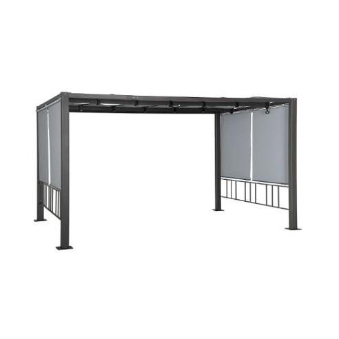 tonnelle moai en aluminium et acier poxy hesp ride. Black Bedroom Furniture Sets. Home Design Ideas
