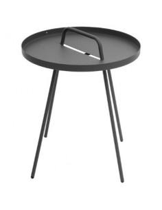 Table d'appoint PRACTICO - Diam.45 cm x 52 cm - Hespéride