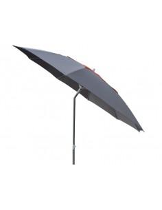 Parasol de jardin Flower rond 270/10 baleines en fibre mat aluminium  - Proloisirs