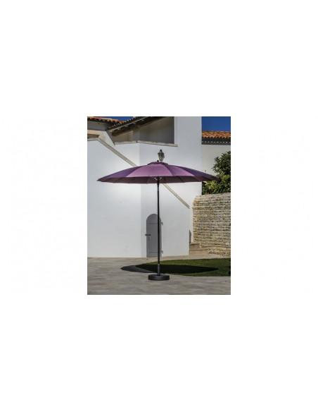 Parasol 270 cm Pagoda- coloris au choix - Proloisirs