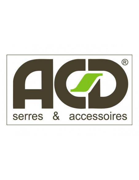 Double-portes ACD pour serre prestige et Serranova coloris au choix