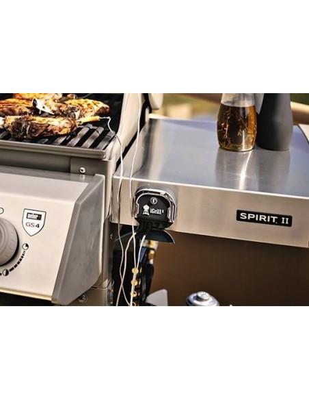 Barbecue à gaz Spirit II E-210 GBS noir - Weber
