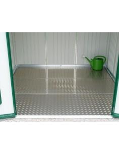 Plancher en aluminium pour abri de jardin Biohort