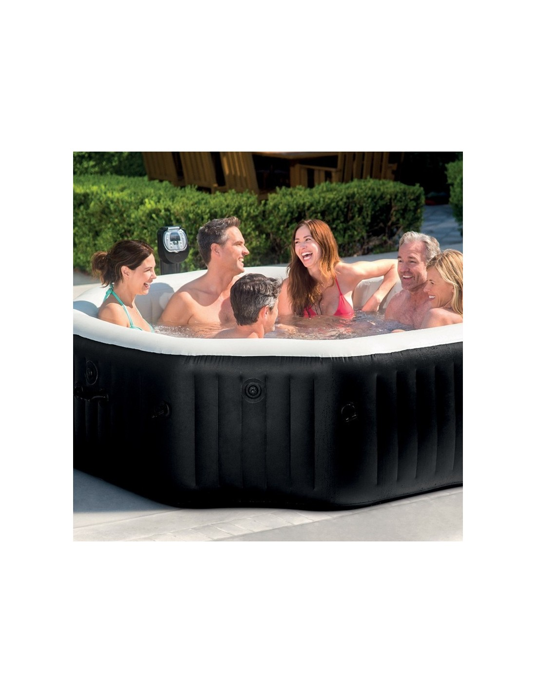 Amenagement Spa Gonflable Interieur spa gonflable intex octogonal 6 places - 2.18 x 0.76 m