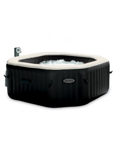 Spa gonflable Intex Pure spa Octogonal 6 places - 2.18 x  0.76 m - Bulles et jets