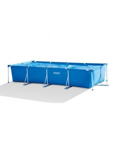 Piscine tubulaire Intex Metal Frame - 4.50 x 2.20 x 0.84 m