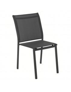 Chaise empilable Essentia Hespéride - Graphite anthracite