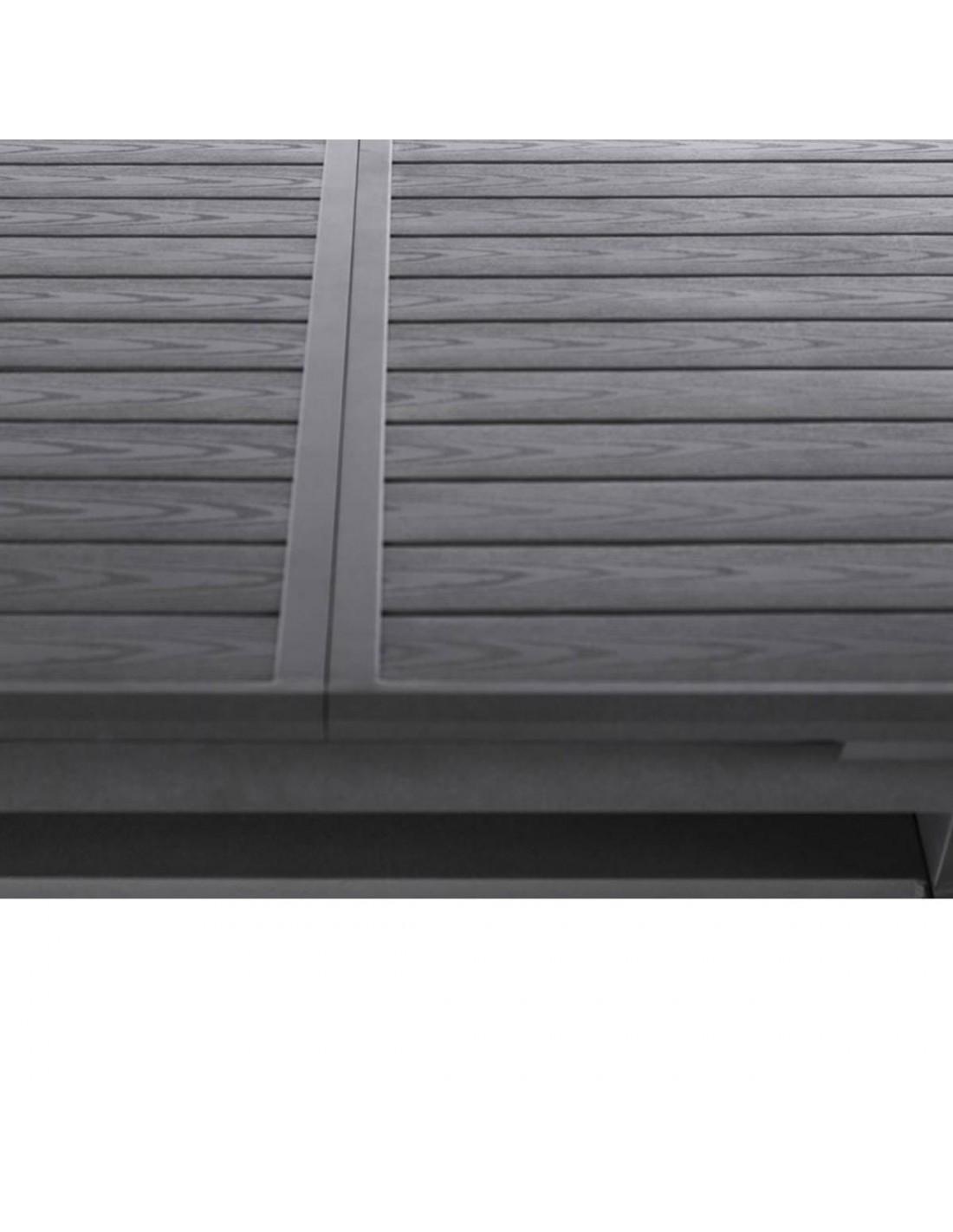 Table de jardin extensible Axiome - aluminium - 10 places ...