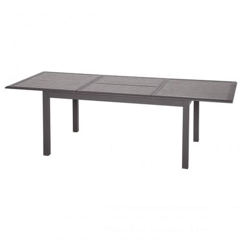 Expresso Tonka Extensible Azua Table Cm Effet 160254 Aluminium Bois 5q3ALRj4