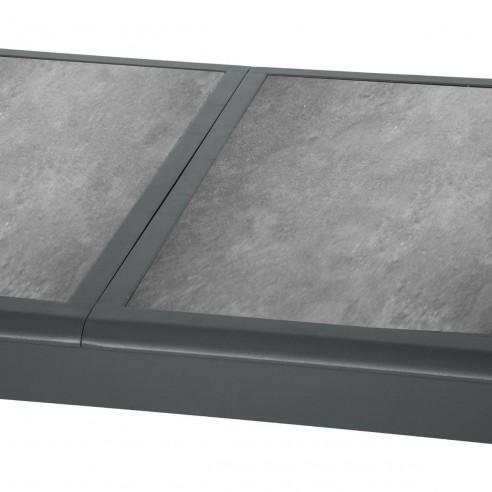 Table Azua Extensible 160 254 Cm Verre Ceramique Hesperide