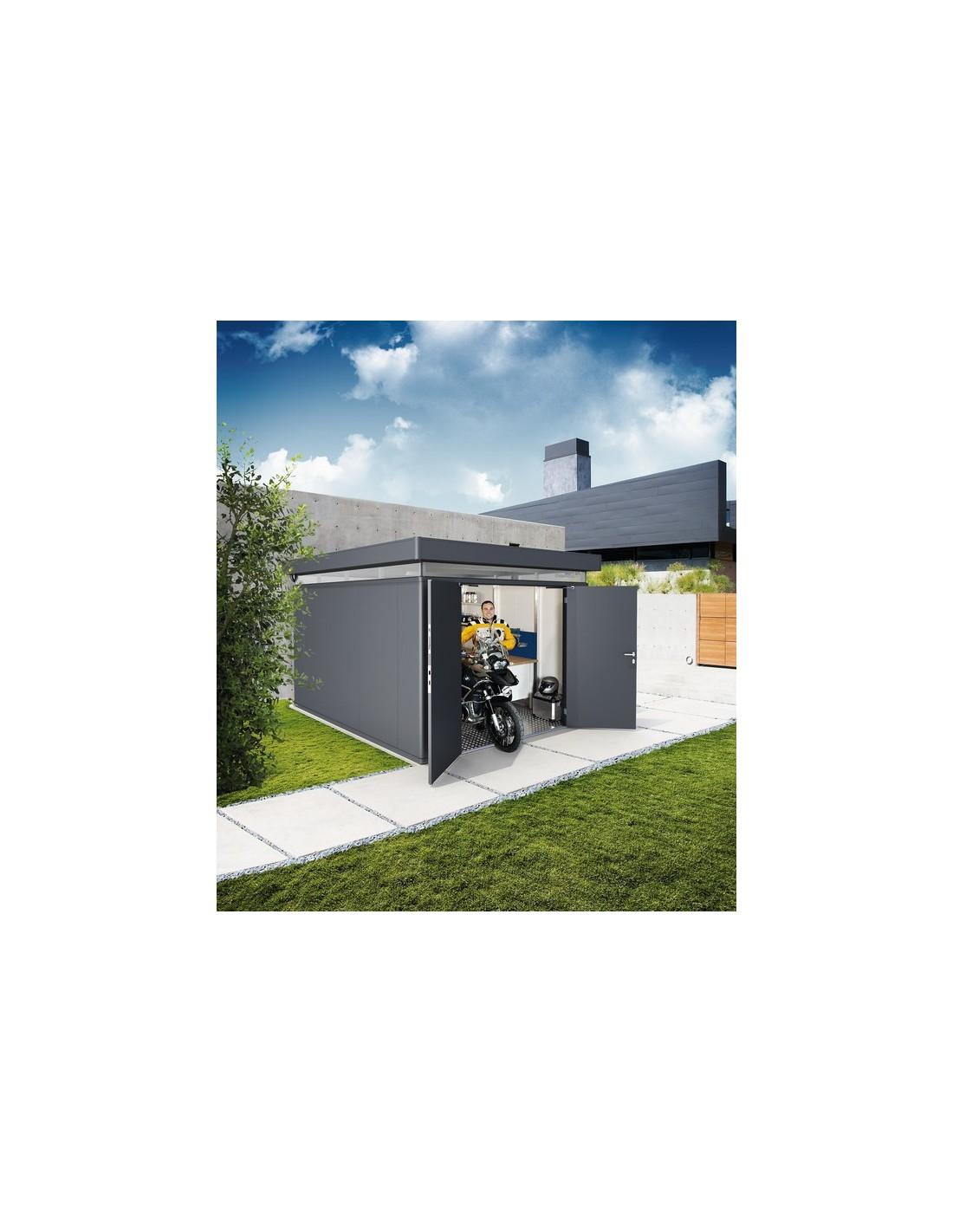 Abri casanova isol largeur 3m biohort simple ou double for Porte de garage 3m de large