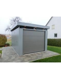 Garage casanova isol largeur 3m biohort simple ou Porte garage sectionnelle 3m large