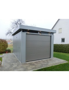 garage casanova isol largeur 3m biohort simple ou double portes. Black Bedroom Furniture Sets. Home Design Ideas