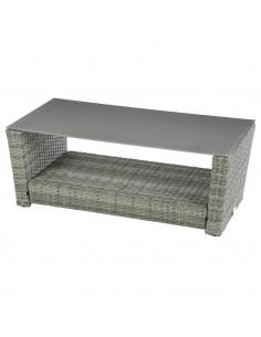 Table basse Polynésia - Aluminium et Résine - Hespéride