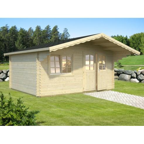 Abri de jardin sally 16 2 m avec plancher serres et abris - Abris de jardin avec plancher ...
