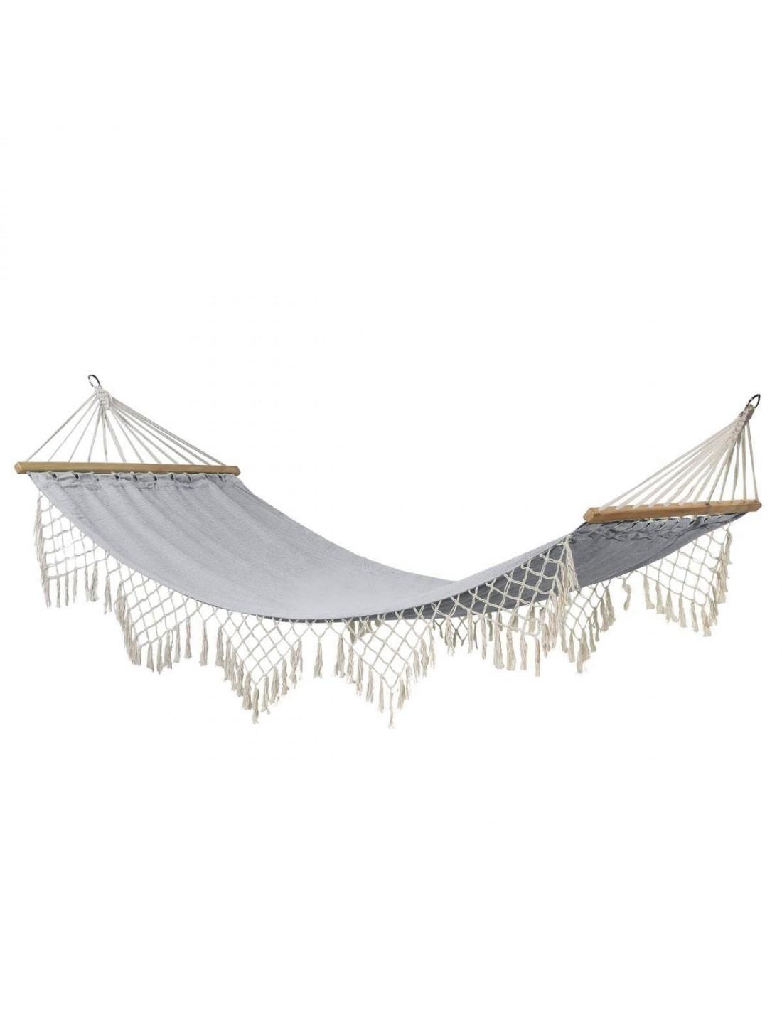 toile de hamac rialto gris perle x cm. Black Bedroom Furniture Sets. Home Design Ideas