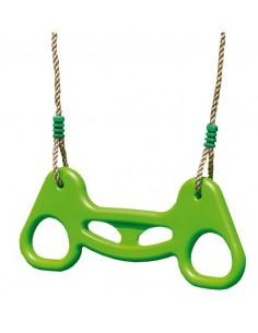 Combinaison trapèze/anneaux réglable pour portique H1.9/2.5 m