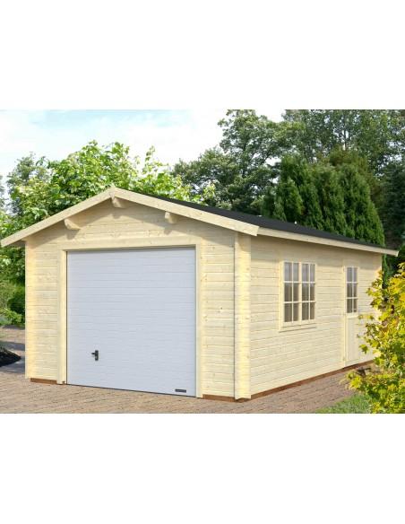 Garage Roger 19.8 m² au choix - Bois massif  44 mm