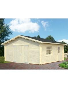 Garage Roger 29.2 m² au choix - Bois massif  44 mm