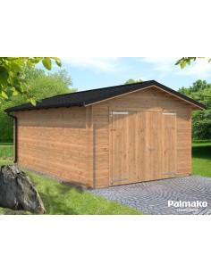Garage Tomas 19.8 m² au choix - Bois massif  44 mm