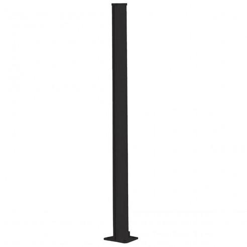 Poteau pour paravent simple Capao Graphite - Diam.5 x H.148.5 cm