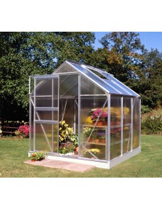Serre de jardin Popular 3,8 m² - Polycarbonate de 4 mm