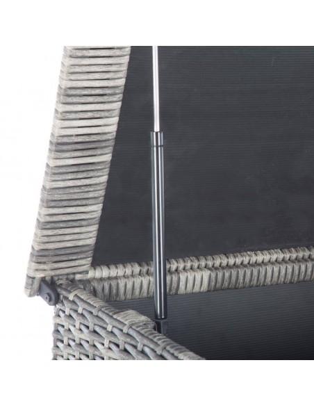 Coffre de rangement Bayana - Résine tressée - L.166 x P.76 x H.79 cm - Hespéride