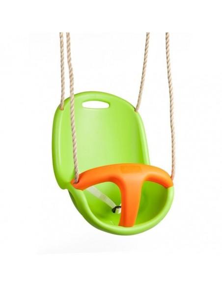 Siège bébé sécurité BABY'K Vert/orange réglable - Portique 1.9/2.5 m