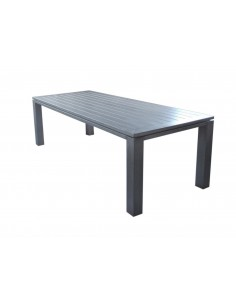 Table de jardin Latino 240 x 98 cm Aluminium ice - Proloisirs