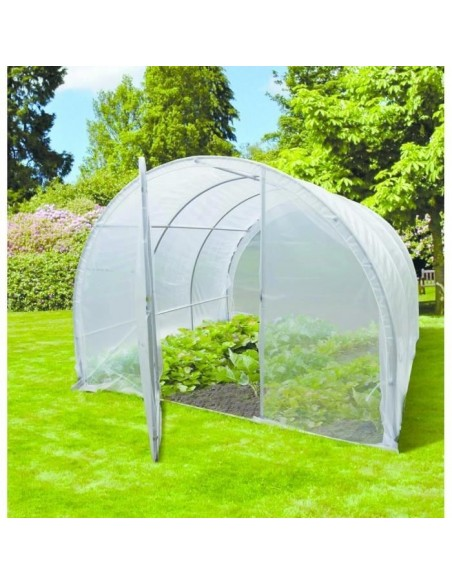 Serre Cerea 9 m² Nortene - PVC transparent 120 microns