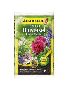 Terreau universel ALGOFLASH 35L enrichi