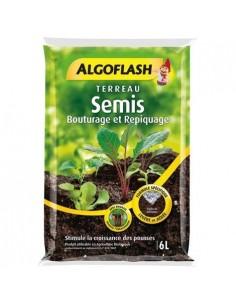 Terreau semis, bouturage et repiquage ALGOFLASH 6L