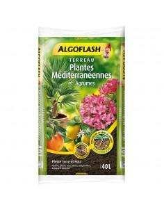 Terreau plantes méditérranéennes et agrumes ALGOFLASH 40L