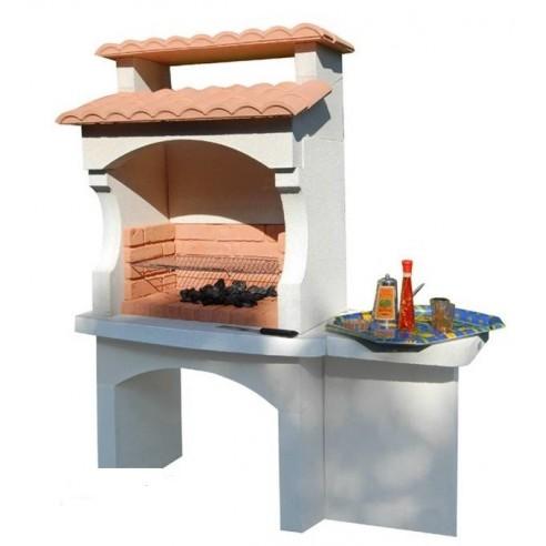 barbecue bugey en b ton charbon de bois. Black Bedroom Furniture Sets. Home Design Ideas