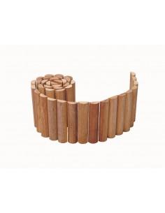 Bordure en rouleau 20x180 cm en bois exotique