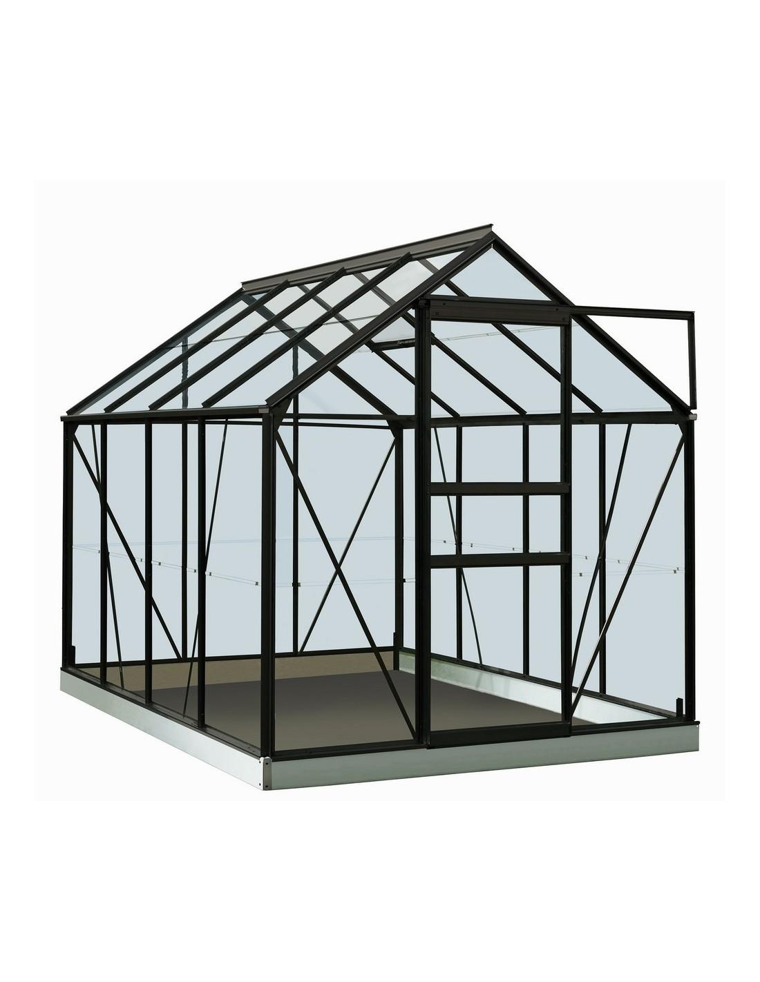 f6982efc6db5c4 Serre Ivy ACD 5 m² verre trempé sécurit de 3 mm - Coloris au choix
