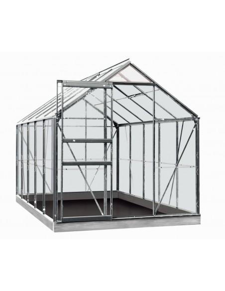 Serre Oliver ACD 9.9 m² verre trempé sécurit de 3 mm - Coloris au choix