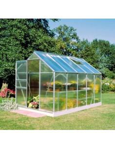 Serre de jardin Universal 9,9 m² - Polycarbonate de 6 mm