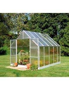 Serre de jardin Magnum 8,3 m² - Polycarbonate de 6 mm