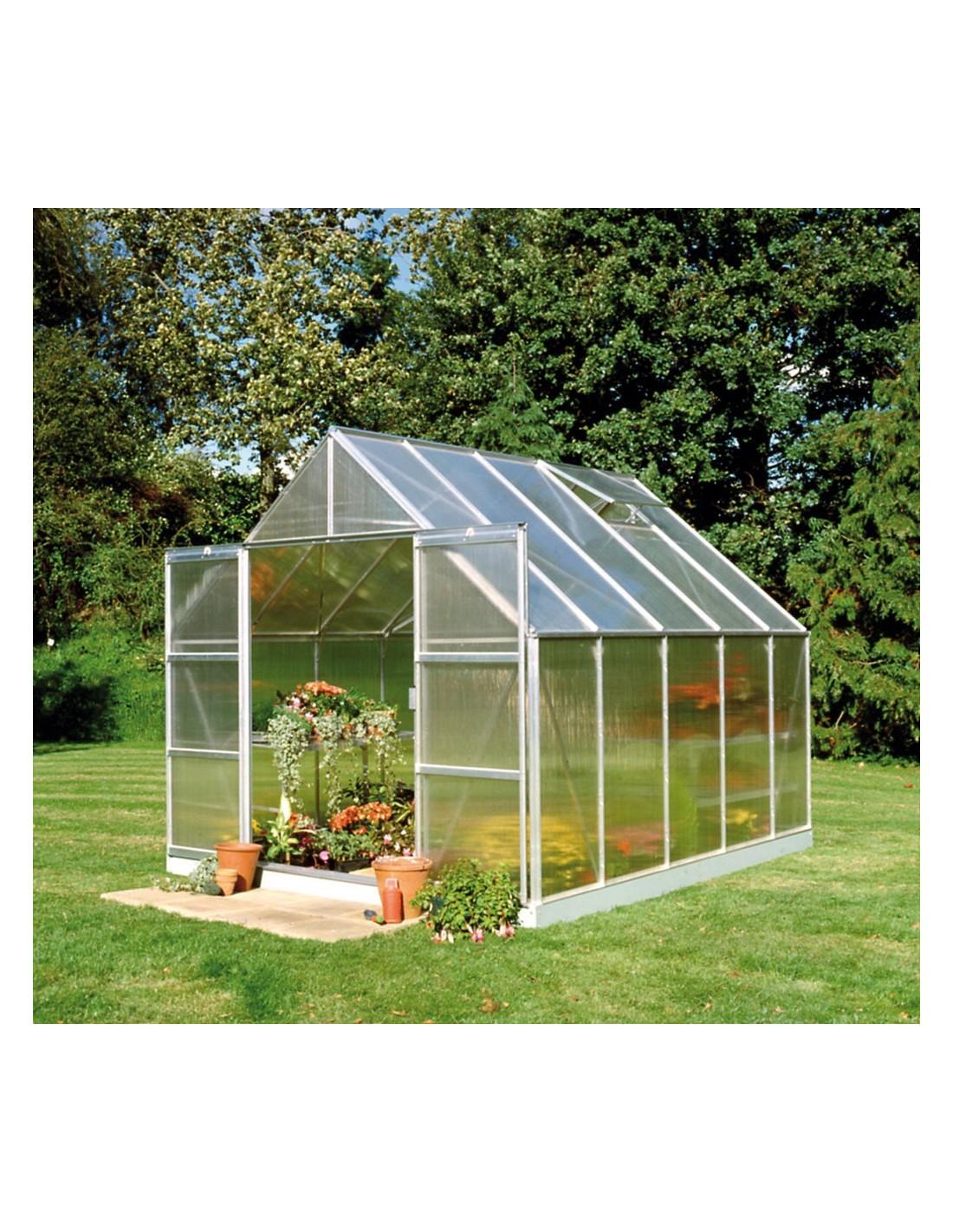 Serre de jardin magnum 83 m² polycarbonate de 6 mm