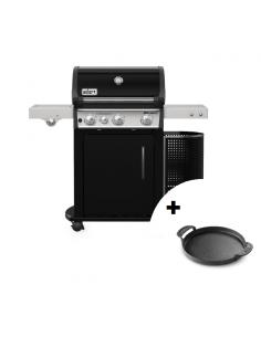Barbecue à gaz Spirit EP-335 GBS Black + plancha