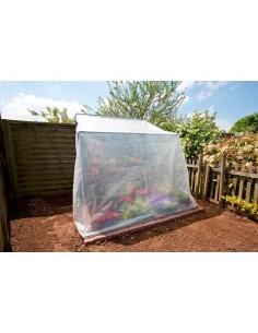 Nursy greenhouse de chez Nortene - Serre adossée