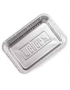 Barquettes 6416 Weber en aluminium
