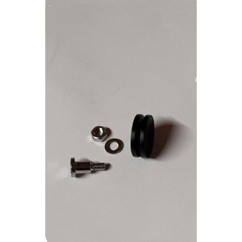 Roulette complète de remplacement pour porte de serre ACD