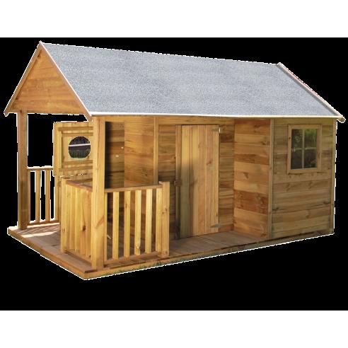 Maisonnette MANON en bois avec...