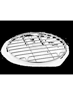 Grille inox 25 cm pour plancha