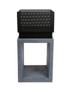 Brasero ZANZIBAR Ciment H.134 cm - Delta