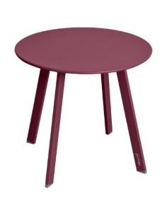 Table d'appoint Saona D.50 x H.45 cm - bordeaux - Hespéride
