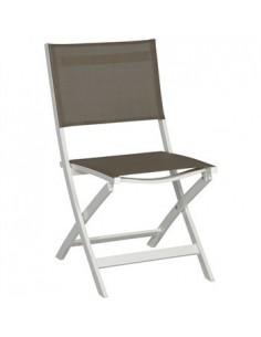Chaise pliante Joe blanc...