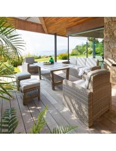Salon Polynesia 7 places - naturae